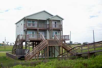 treasure island freeport surfside beach home in Texas